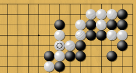 weiqi Defend your cutting points