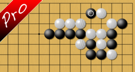 weiqi Two points of territory