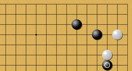 baduk Sticky moves in the corner